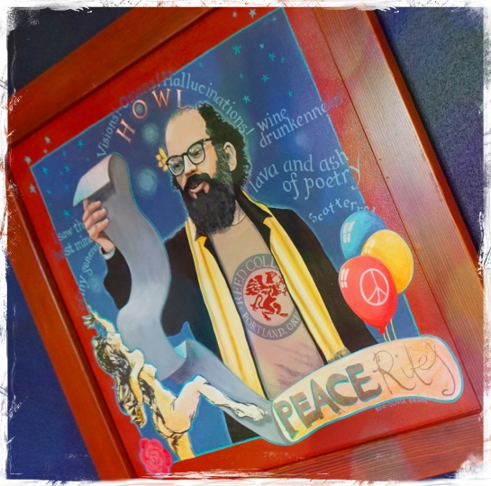 The Howl Room - Crystal Hotel Portland - Sep 2014 - Allen Ginsberg