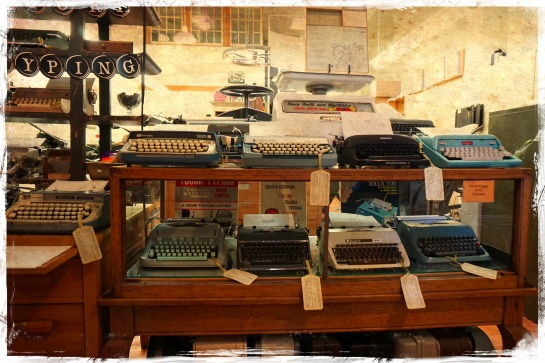 Typewriters at Oblation Papers & Press