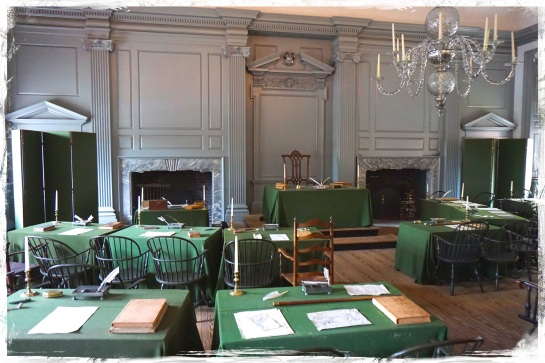 Assembly in Independence Hall