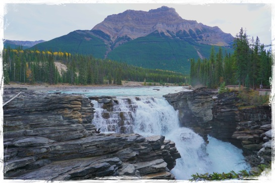 Athabasca Falls - Monday 6 Oct 2014