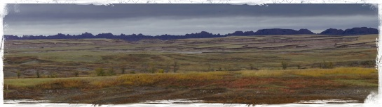 Badlands landscape 1