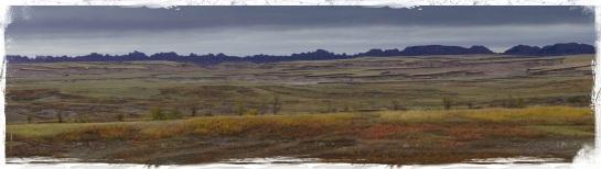 Badlands landscape 1