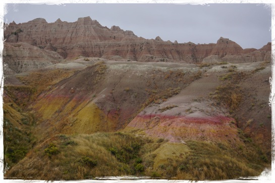 Badlands landscape 10