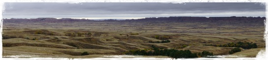 Badlands landscape 2