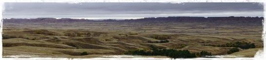 Badlands landscape 2