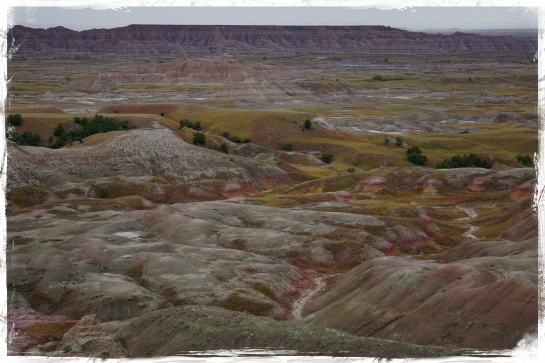 Badlands landscape 4