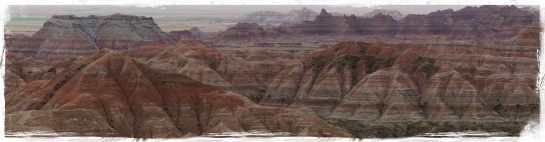 Badlands landscape 5