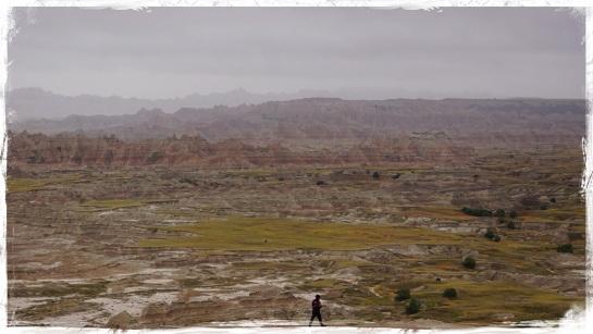 Badlands landscape 8