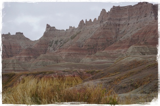 Badlands landscape 9