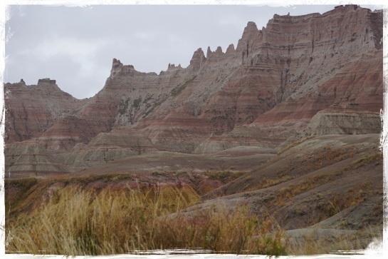 Badlands landscape 9