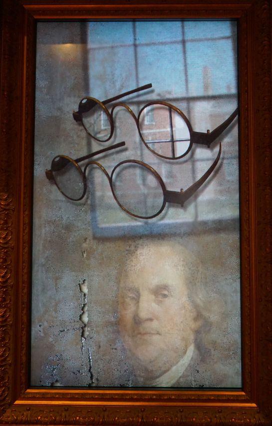 Benjamin Franklin - bifocals