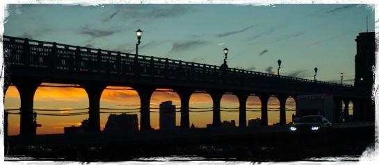 Benjamin Franklin Bridge into Philadelphia