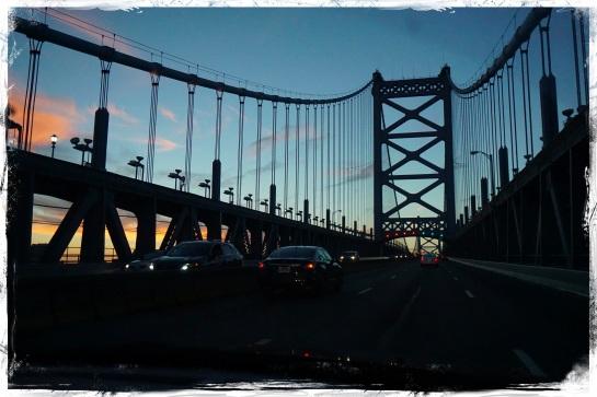 BF Bridge into Philadelphia