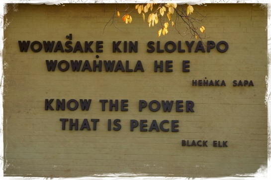 Black Elk - Know the Power that is Peace