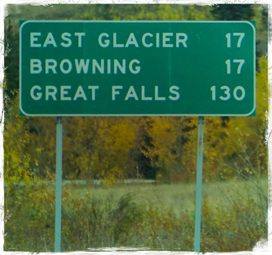 Browning, Great Falls distances