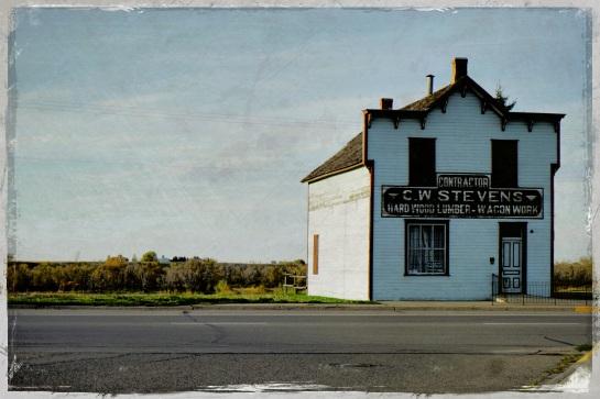 C W Stevens lumber - Fort Macleod