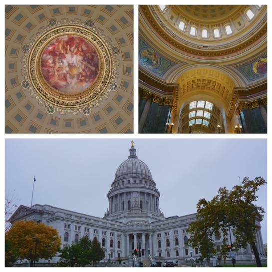 Capitol Building, Madison WI - Diptic