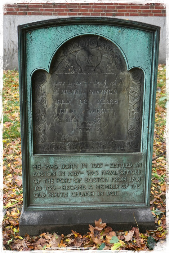 gravestone - Boston