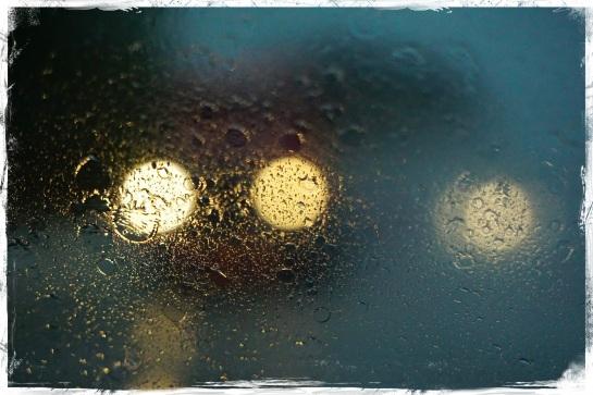 headlights in the rain 2