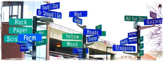 Madison WI - signposts