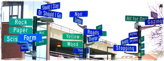 Madison WI - signposts