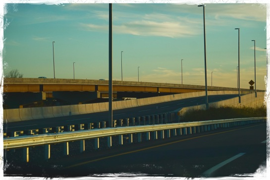 New Jersey Turnpike - late afternoon
