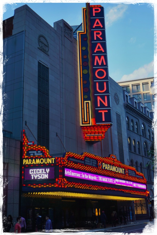Paramount Theatre Boston