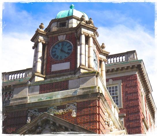 Philadelphia clock