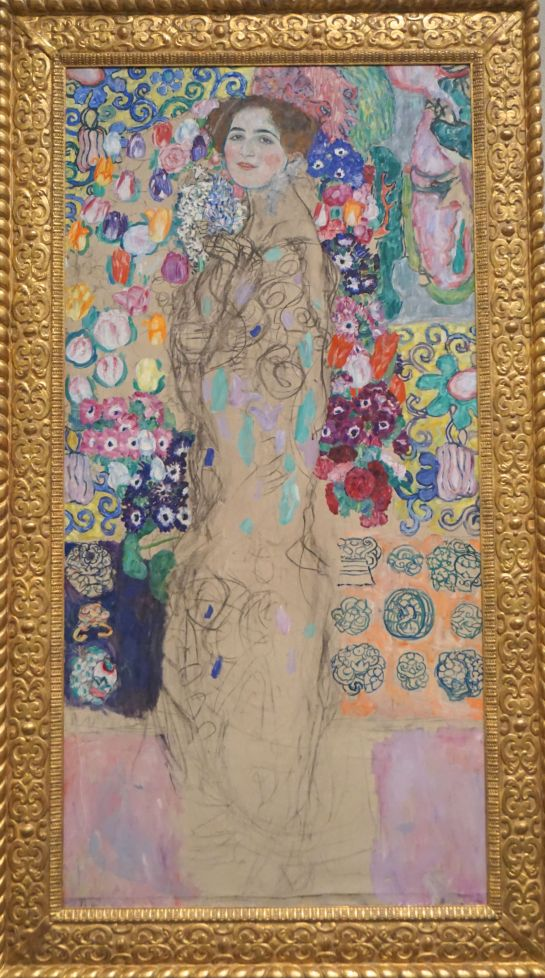 Portrait of a Woman - Gustav Klimt