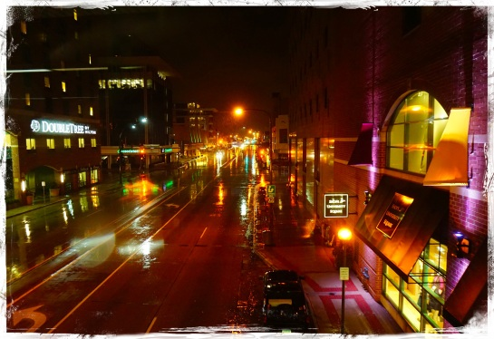 Rochester - rainy evening 13 Oct 2014
