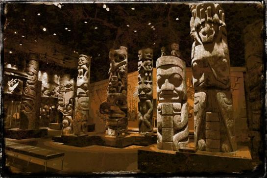 Royal BC Museum - Totem poles