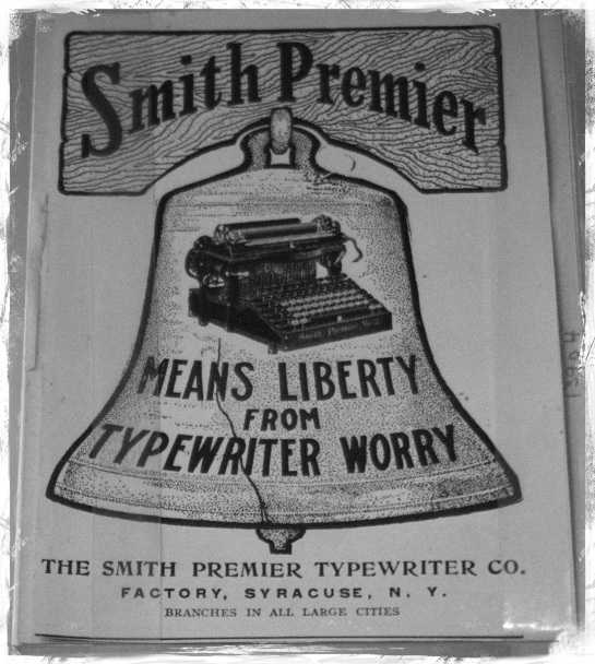 Smith Premier Typewriter advertisement