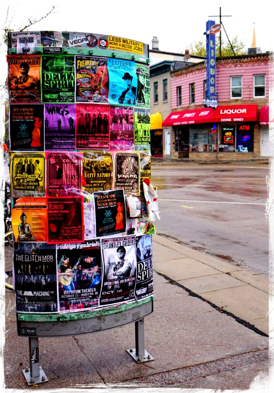 State Street bill posters - Madison WI
