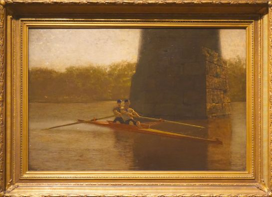 The Pair-Oared Shell - Thomas Eakins