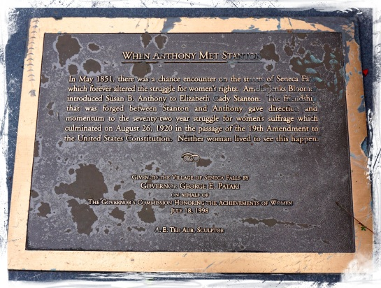 When Anthony Met Stanton plaque