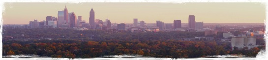 Atlanta skyline 10 Nov 2014
