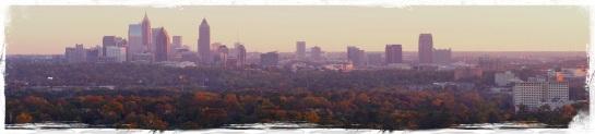 Atlanta skyline 10 Nov 2014