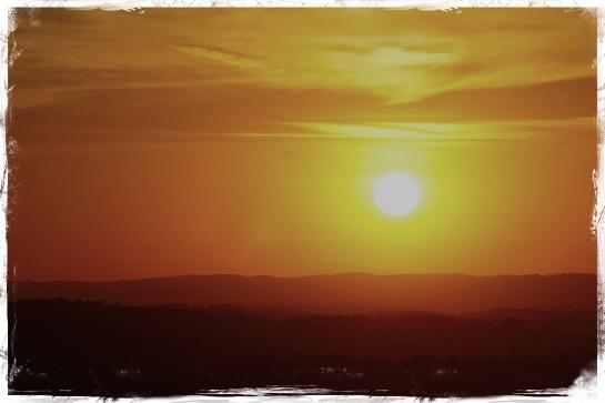 Atlanta sunset - 10 November 2014