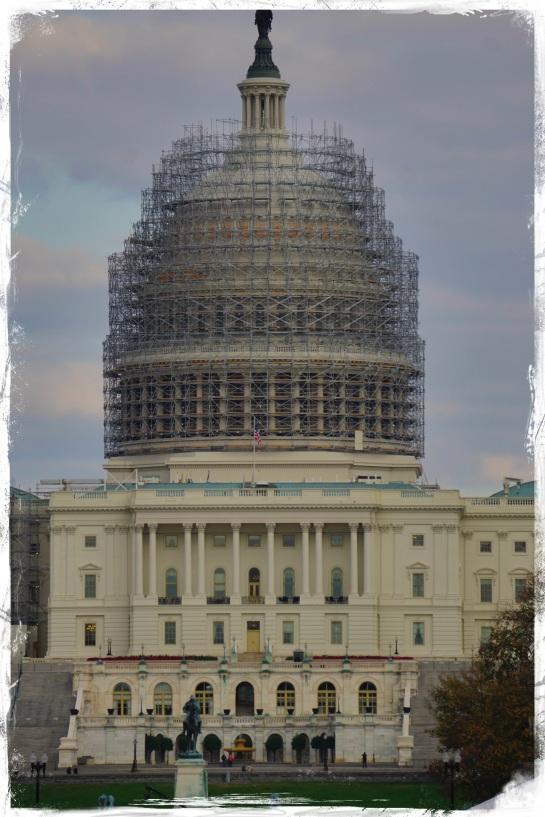 Capitol Building - Washington DC - 31 Oct 2014