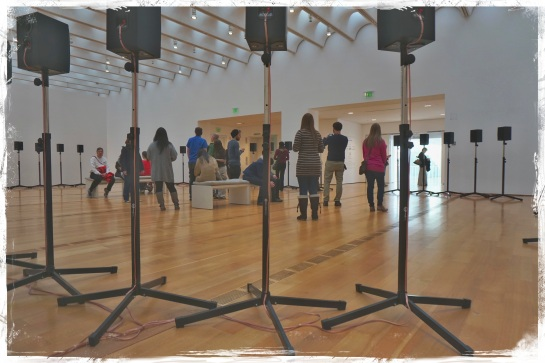 Janet Cardiff - The Forty Part Motet - High Museum