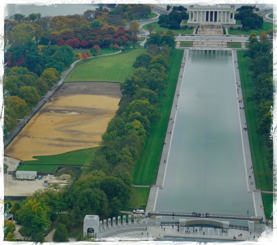 Lincoln Memorial from Washington Monument