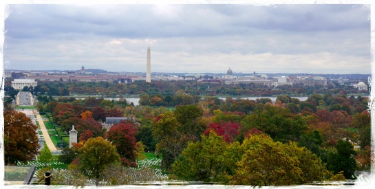 Washington DC from Arlington Cemetery