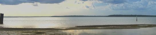 Dunwich low tide - 21 Jan 15