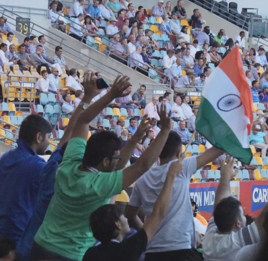 India fans - Brisbane 20 Jan 2014