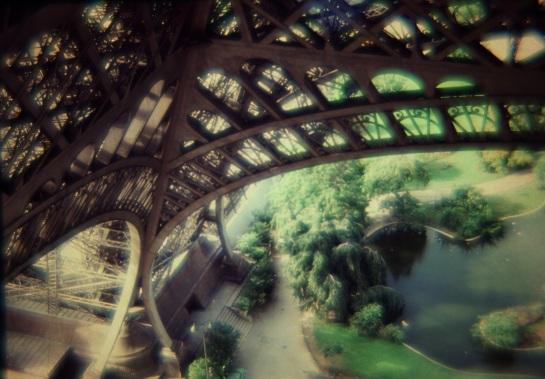 Slides - Eiffel Tower - 1980