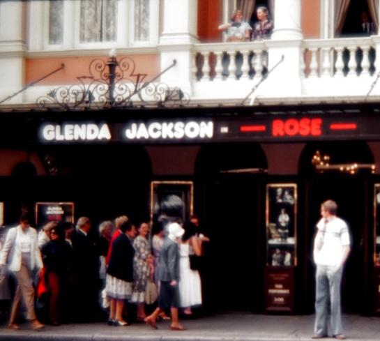 Slides - Glenda Jackson in Rose - York Theatre London 1980