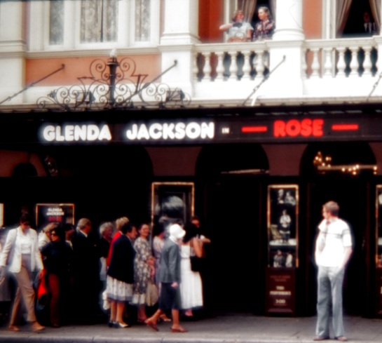 Slides - Glenda Jackson in Rose - York Theatre London 1980