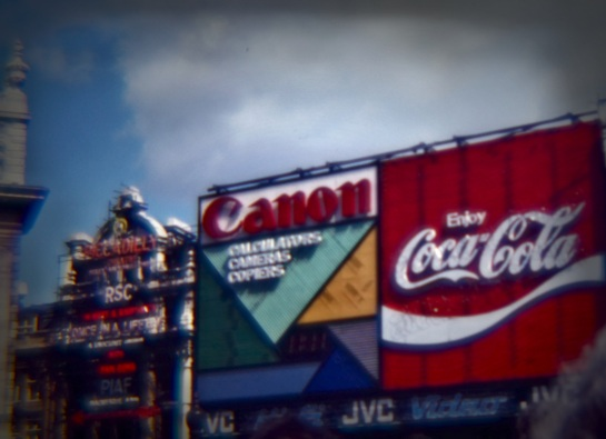 Slides - Piccadilly Circus 1 - 1980