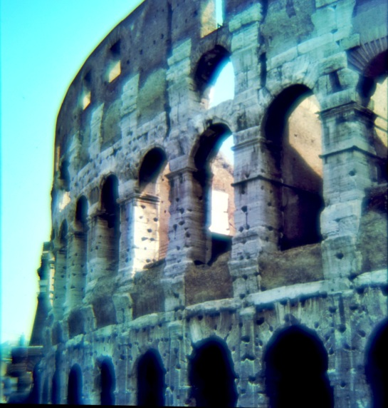 Slides - The Colosseum - Rome 1980