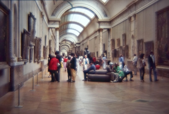 Slides - The Louvre - 1980